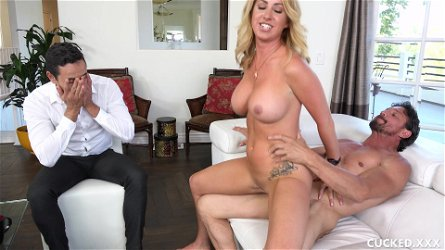 Marvelous action with slutty Gabriel, Janna Hicks and Tommy Gunn