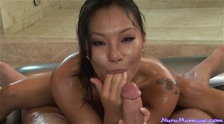 Beautiful Asa Akira Sucks Cock And Gets Her Pussy Fucked.