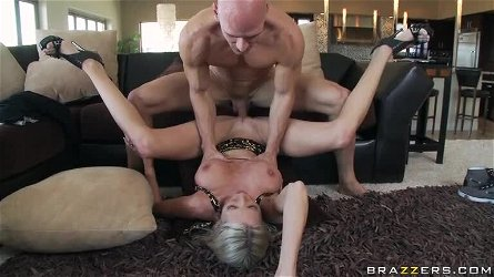 Blonde MILF Party Planner Emma Starr Fucking The Host