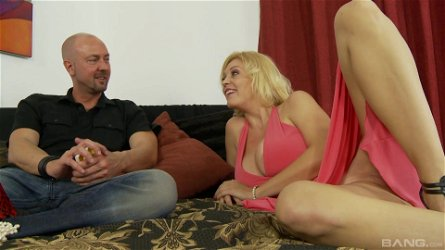 Busty girl Charlee Chase knows how to satisfy a long dick