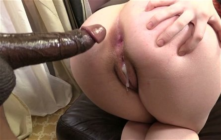 Red haired nympho called Sadie Kennedy takes BBC in her vagina for doggyfuck