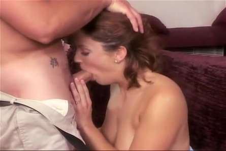 Brunette Bounces On Cock For Cumshot
