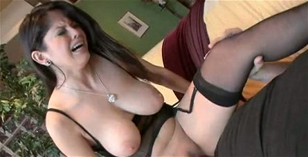 Doggy fuck workout and cock ride session with busty Evie Delatosso