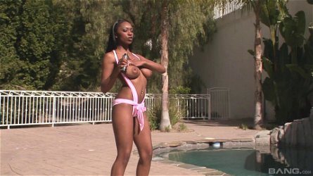 Extraordinary bang scene with a naughty porn hottie Erika Vuitton in action