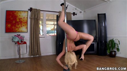 Kagney Linn Karter rides a BBC after sucking it devotedly