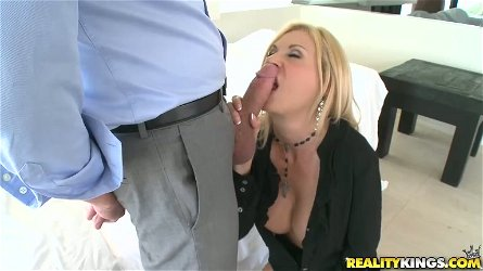 Brooke Tyler gets her pussy licked and drilled from behind