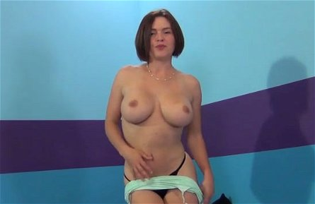 Dark haired filth Krissy Lynn masturbates using sex toys