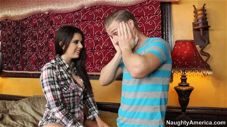 Aroused hussy Kodi Gamble welcomes rimjob of her tasty asshole