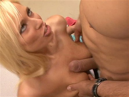 Blond whore Angelina Ashe is fucking with her techer in the class