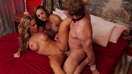 Top threesome along Chanel Preston and Nicole Aniston