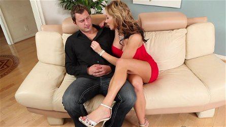 Nate Jordan fucks with busty mom Nikki Sexx