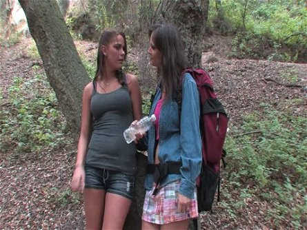 Camping and scissoring with a passionate lesbian Ami Emerson