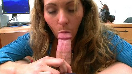 POV blowjob from sexy Devon James