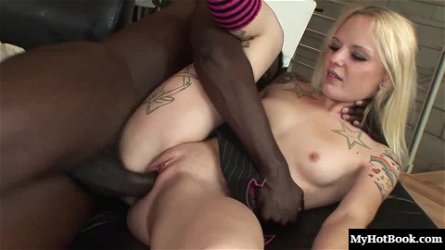 Faye Runaway is going to be having interracial sex