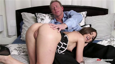 Riley Reid cums on his tongue then all over his cock