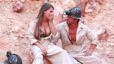 Hot porn sweetheart Madison Ivy gets banged hardcore in mining site