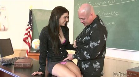 Bewitching Kodi Gamble having wild sex in school