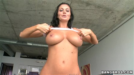 Ava Addams Makes Her Ass Clap As She Rides A Hard Cock
