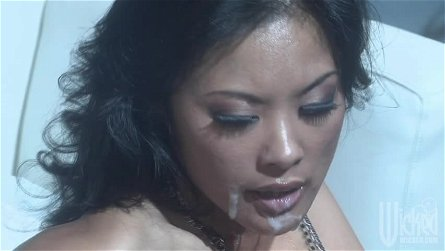Asian Kaylani Lei Gets Fucked and Facialized By A Stranger