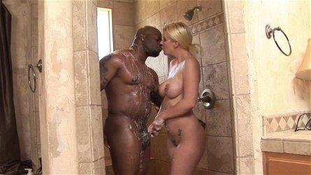 Strong encounter with a black cock for Anita Blue