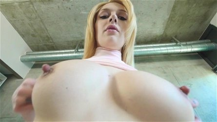 Emma Mae swallows a big load after scenes of great POV sex
