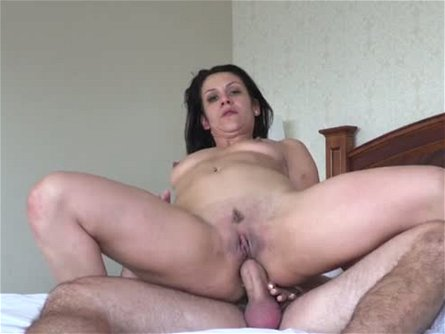 Wild black haired slut Samia Duarte got butt fucked early in the morning hard