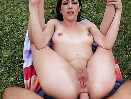 Anal In The Backyard / Nicole Rider. Part 5