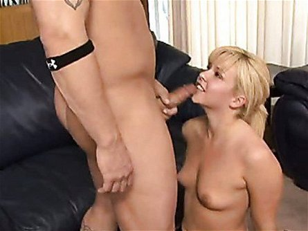 Scortching Hot Emma Heart Gets Her Mouth Hooked Up On A Meaty Cock