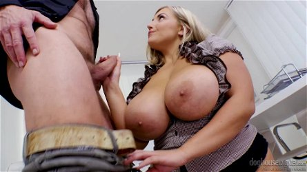 Sun-Tanned Chubby Wife Sucks Her Nipples And Rubs Pussy