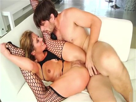 Sheena Shaw In Fishnet Stockings Loves Anal