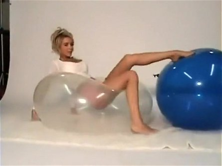 Alexis Paige - two 40 inch balloons