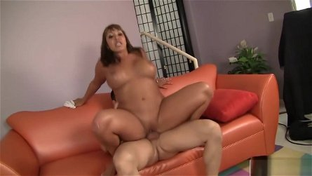 Ava Devine Enjoys A Big Hard Pecker