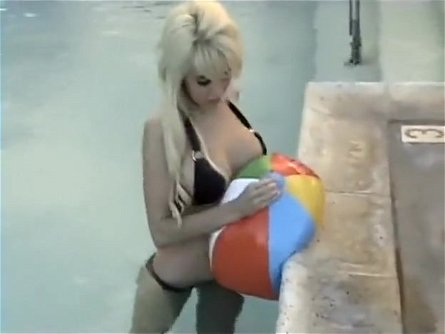 Alexis Paige - Poolside deflate
