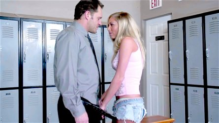 Alec Knight & Brynn Tyler in Better Fuck And Suck Than Be Held After School - BestGonzo