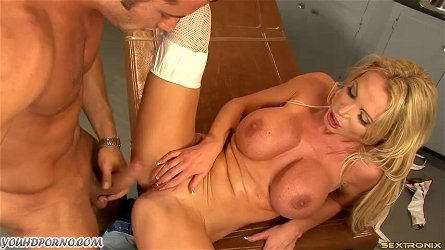Big tit milf dr. nikki benz takes a big cock in hospital