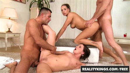 RealityKings - Euro Sex Parties - Choky Ice Mea Melone Renato Wendy Moon - Lather Me Up