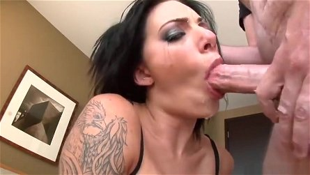 Deep Throat sex video featuring Alanah Rae, Kaiya Lynn and Jacky Joy