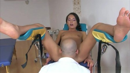 Nataly Gold Gets Her Asshole Examined By Big Hard Cock