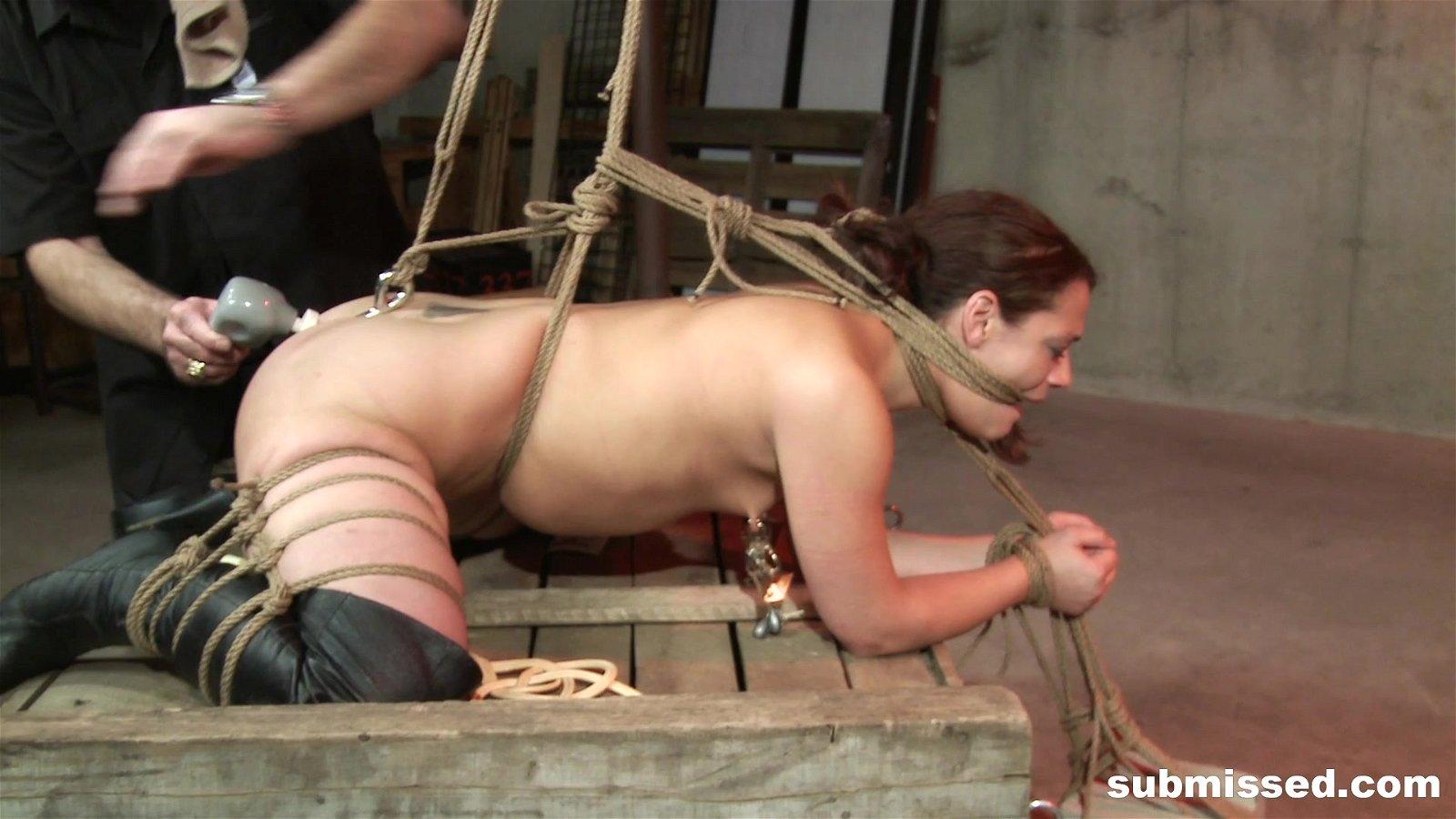 Contest bondage girl