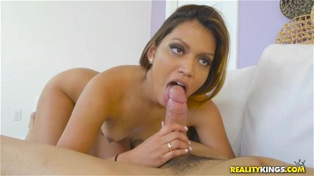 Small-Chested Latino Cock-Sucker Gives Unbearable Pleasure