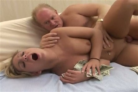 Pigtailed blonde cowgirl with sexy ass Aubrey Addams wanna be fucked doggy