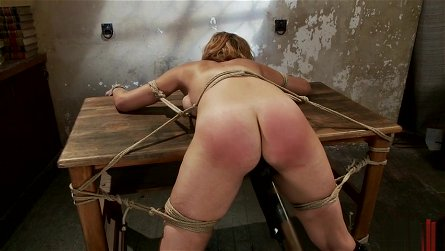 Bound And Tied Up Girl Gets Her Pleasures