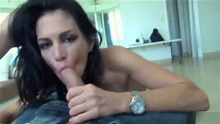 Classy brunette youthful harlot Molly Madison performing in hardcore XXX video