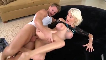 Beauteous busty mature lady Torrey Pines is fucking hard