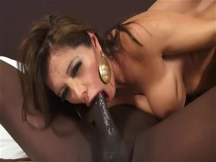 Two Beautiful Latinas Suck On A Massive Black Dick
