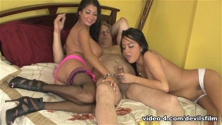 Best pornstars Miya Monroe, Angelica Taylor, Nadia Night in Exotic Big Tits, Threesomes sex scene