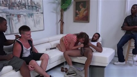 Maddy O'Reilly Gets Double Dicked By Black Men