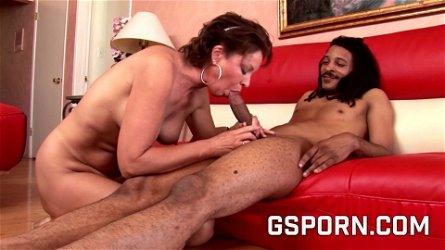 Hot skinny punk milf wants a creampie by big black cock
