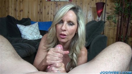 Jodi West Strokes You Dick Until You Cum - JodiWest