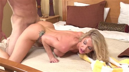 Stepson Caught Spying On Mom Synthia Fixx - ForbiddenFruitsFilms